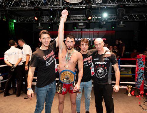 Il napoletano Iodice è il nuovo campione europeo del K1 -Rules